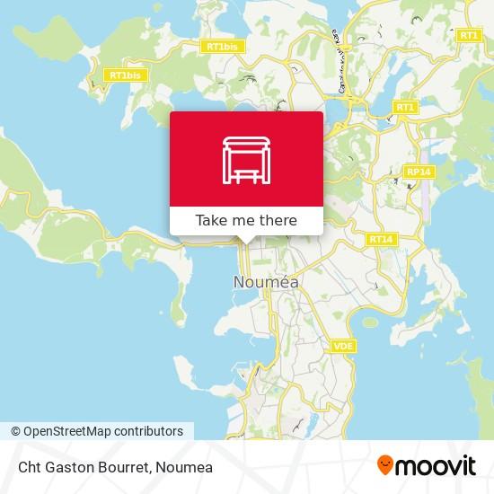 Cht Gaston Bourret map