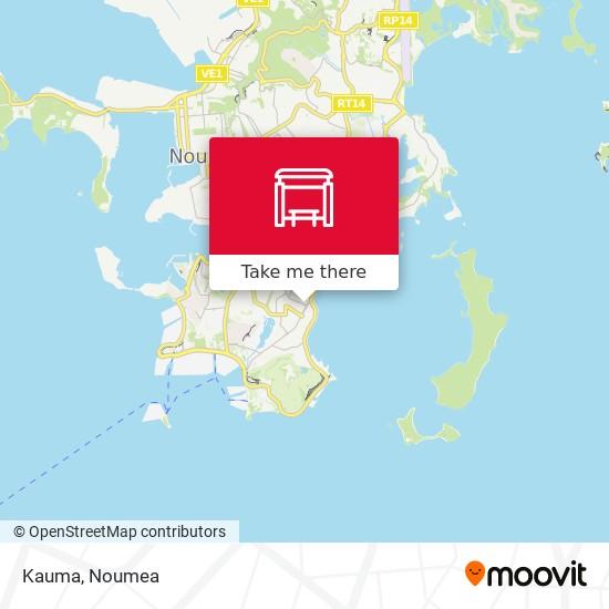 Kauma map