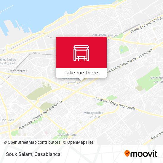 Souk Salam map