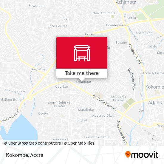 Kokompe map