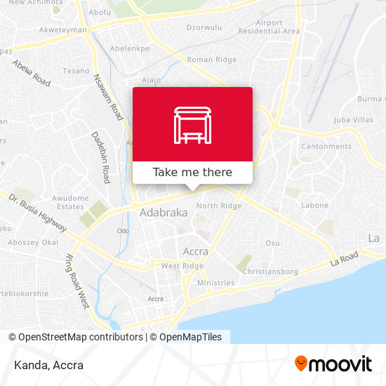 Kanda map