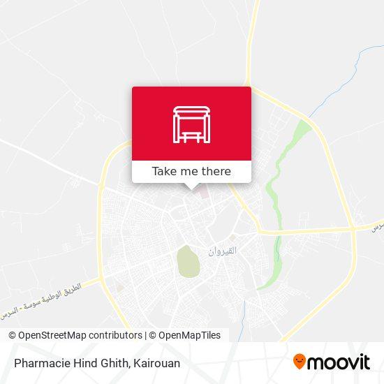 Pharmacie Hind Ghith plan