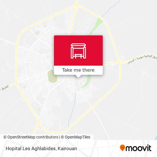 Hopital Les Aghlabides plan