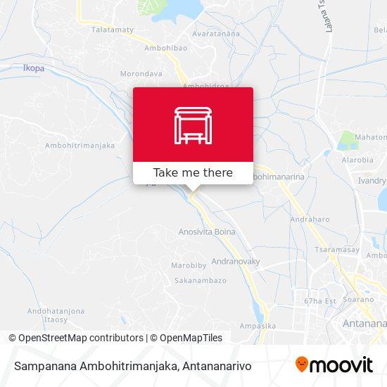 Sampanana Ambohitrimanjaka map