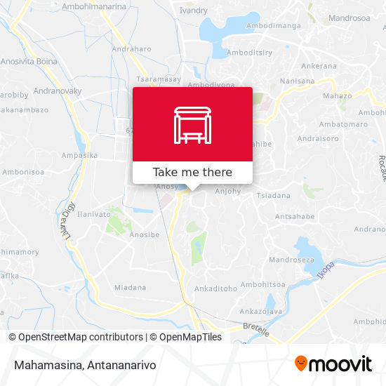 Mahamasina map