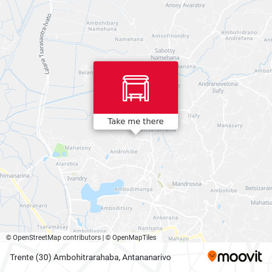 Trente (30) Ambohitrarahaba map