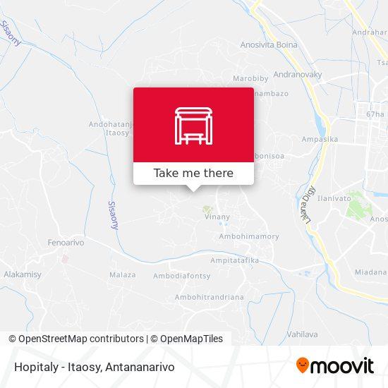Hopitaly - Itaosy map