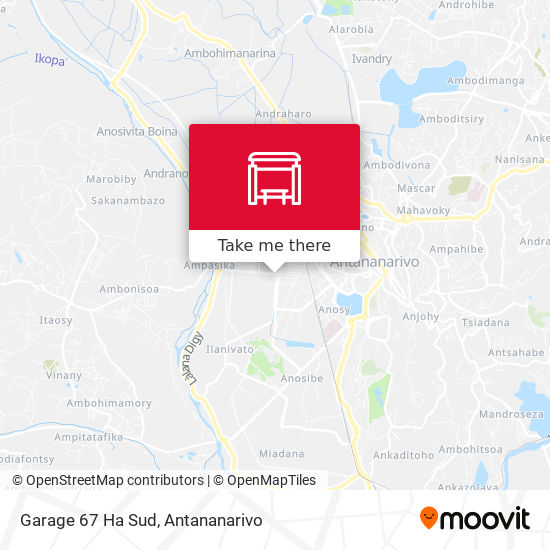 Garage 67 Ha Sud map