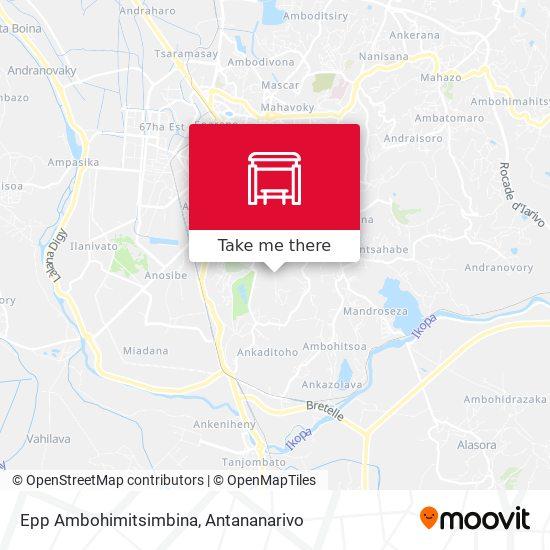 Epp Ambohimitsimbina map