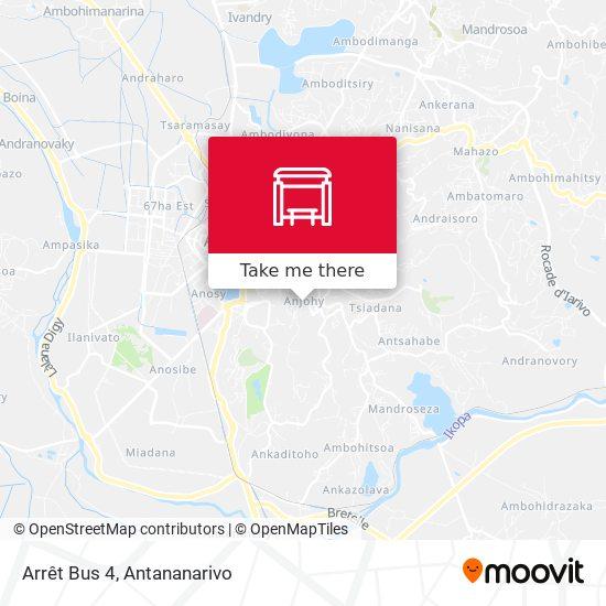 Arrêt Bus 4 map