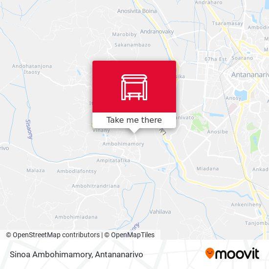 Sinoa Ambohimamory map