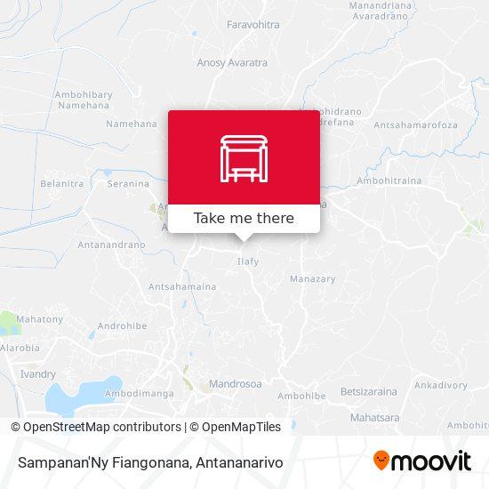 Sampanan'Ny Fiangonana map