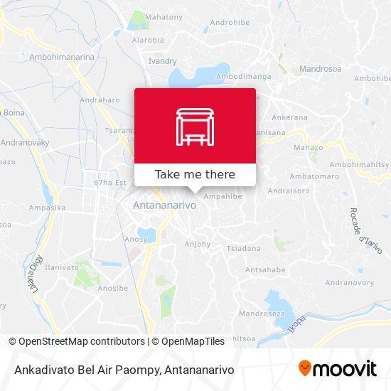 Ampandrana Nane map