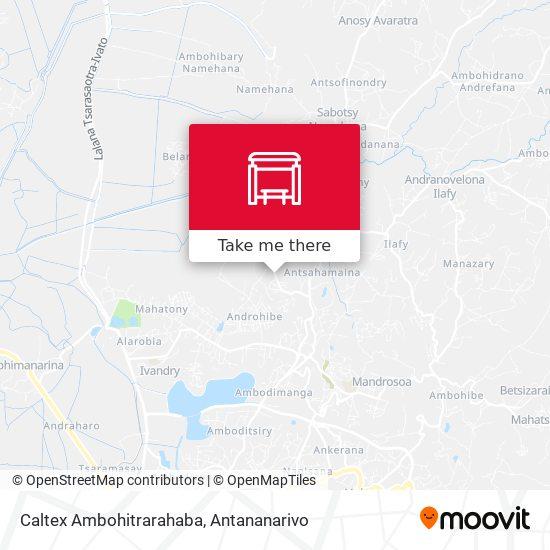 Caltex Ambohitrarahaba map