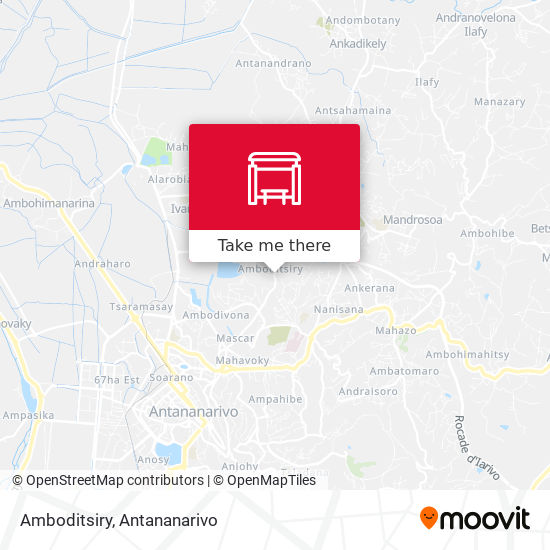 Amboditsiry map