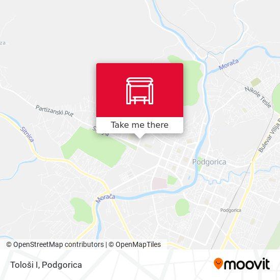 Tološi I map