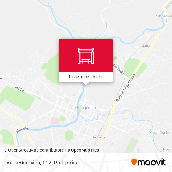 Vaka Đurovića, 112 map