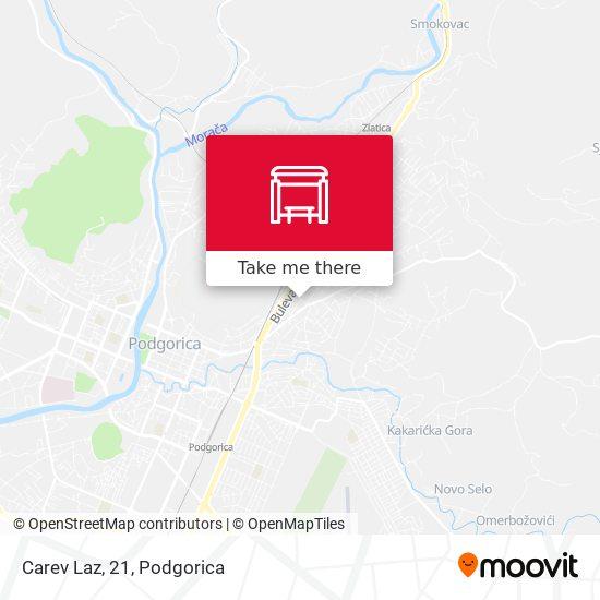 Carev Laz, 21 map