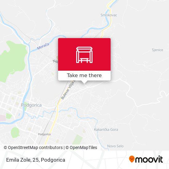 Emila Zole, 25 map