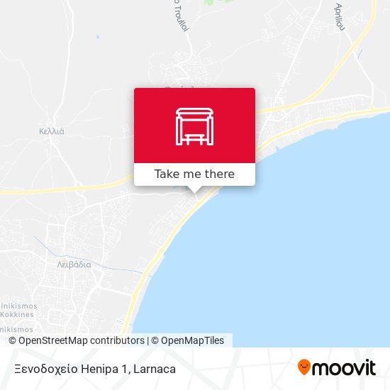 Ξενοδοχείο Henipa 1 map