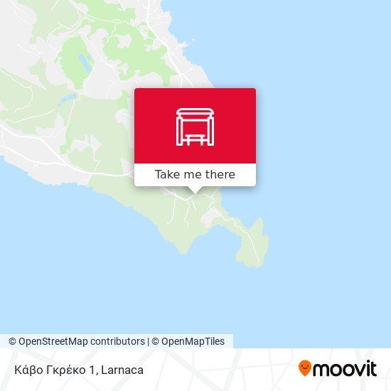 Κάβο Γκρέκο 1 map