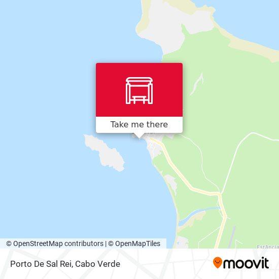 Porto De Sal Rei mapa