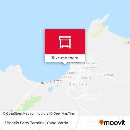 Mindelo Ferry Terminal mapa