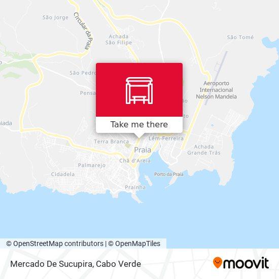 Mercado De Sucupira mapa