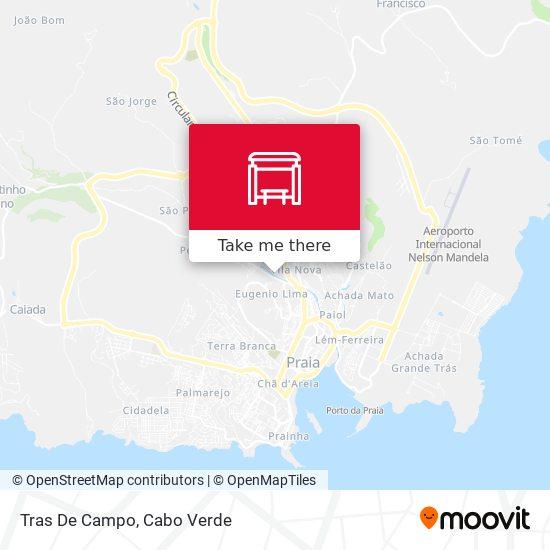 Tras De Campo mapa