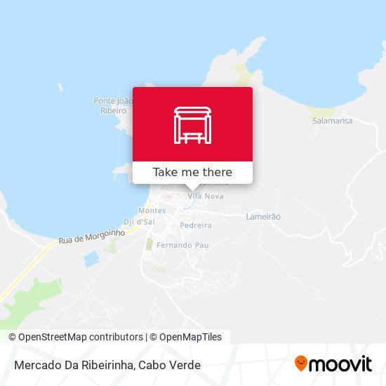 Mercado Da Ribeirinha mapa