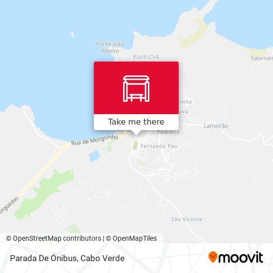 Parada De Ónibus mapa