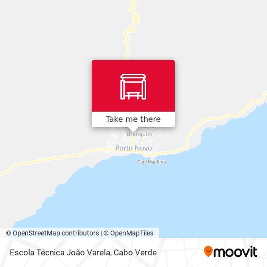 Escola Técnica João Varela mapa