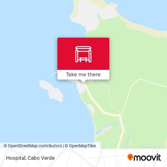 Hospital mapa