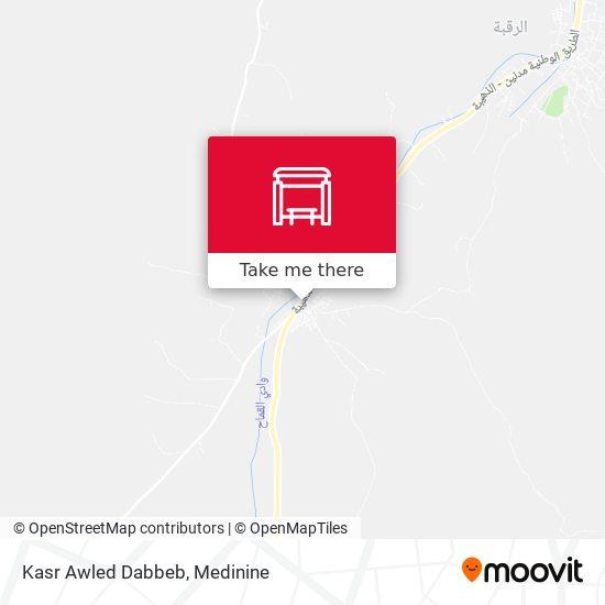 Kasr Awled Dabbeb plan