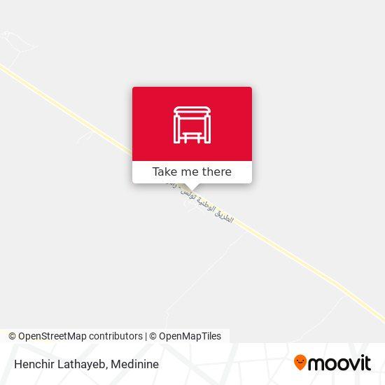 Henchir Lathayeb plan