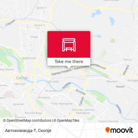 Автокоманда-Т map