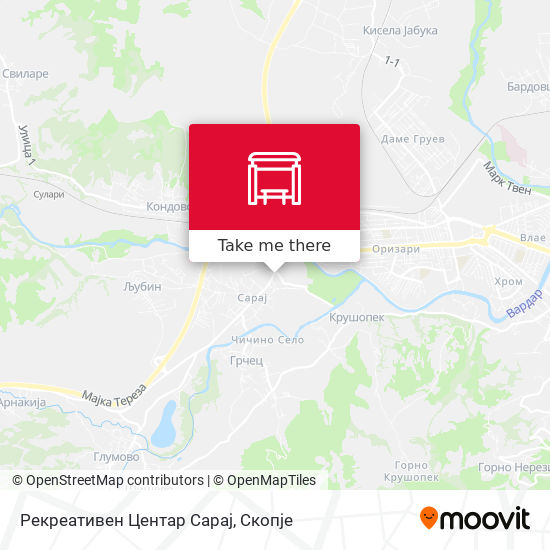 Рекреативен Центар Сарај map