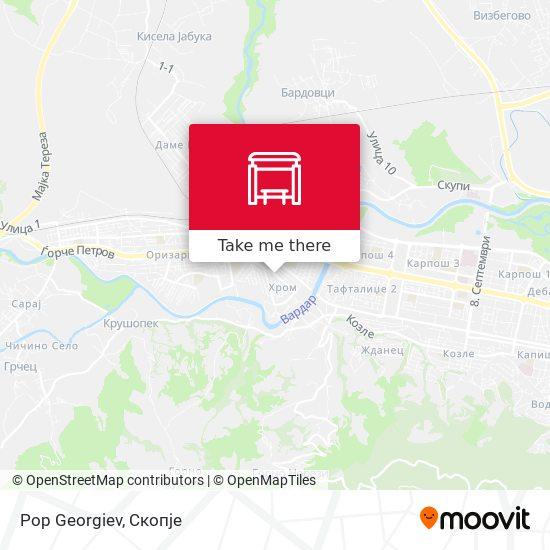 Pop Georgiev map