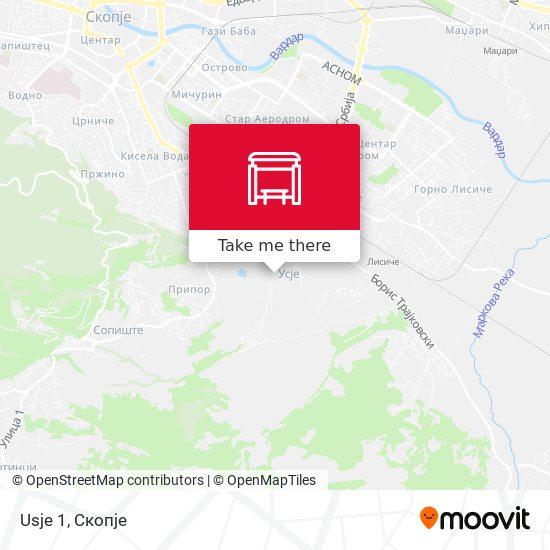 Usje 1 map