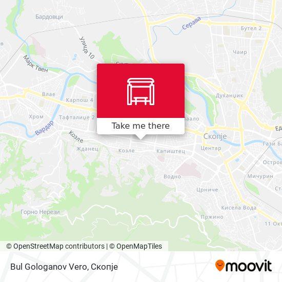 Bul Gologanov Vero map