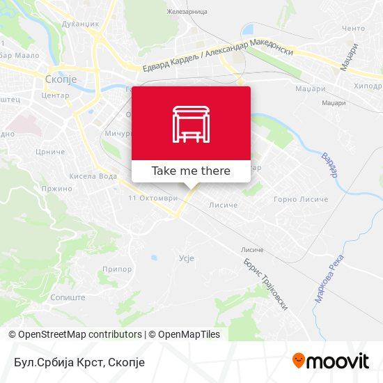 Бул.Србија Крст map