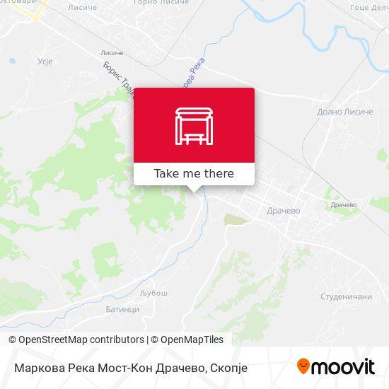 Маркова Река Мост-Кон Драчево map