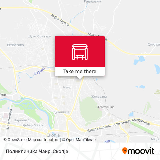 Поликлиника Чаир map