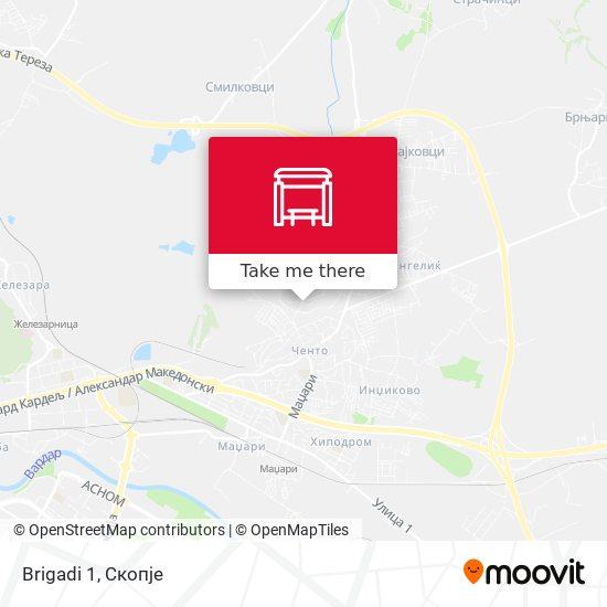 Brigadi 1 map