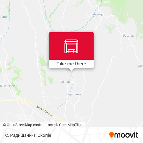 С. Радишани-Т map