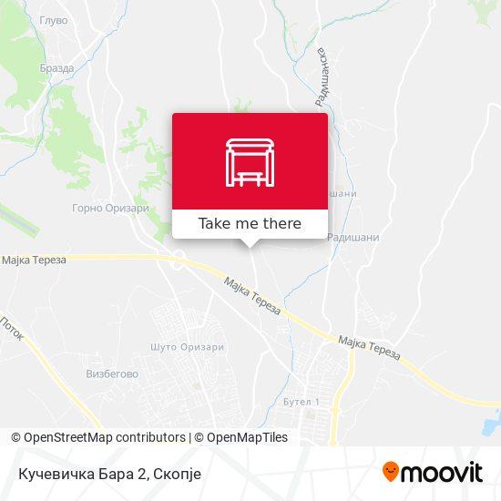 Кучевичка Бара 2 map