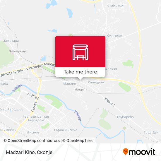 Madzari Kino map