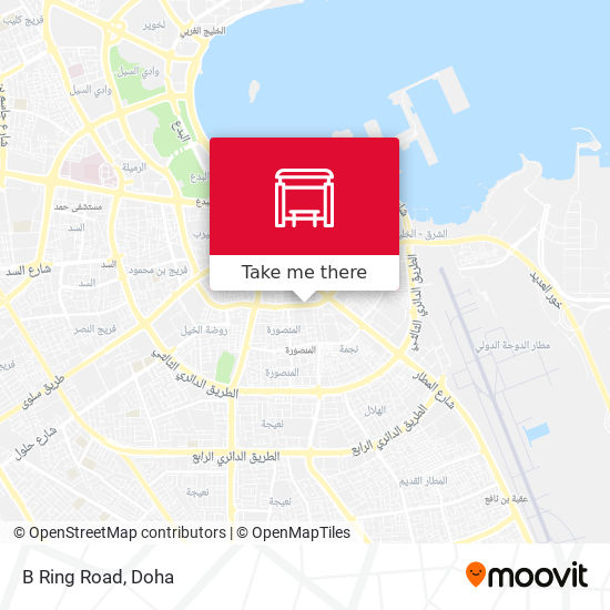 B Ring Road map