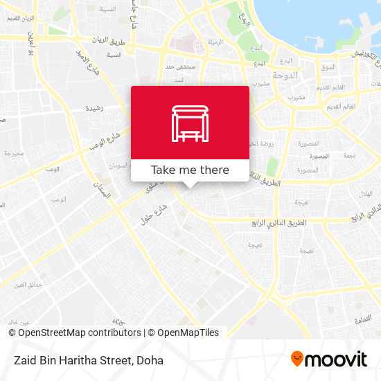 Zaid Bin Haritha Street map