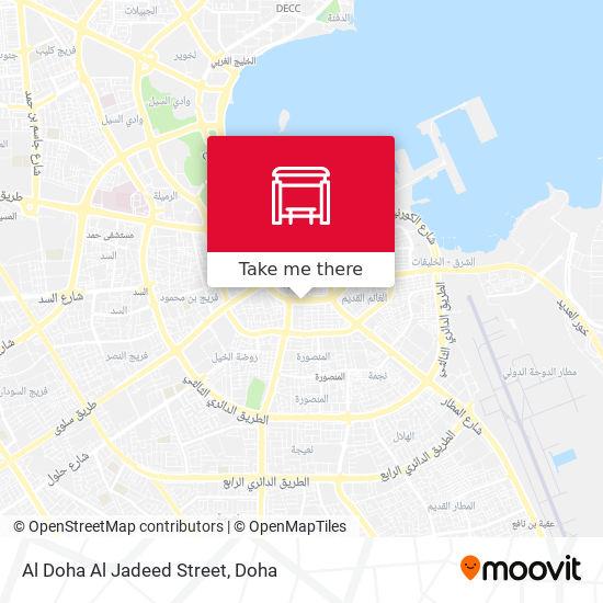 Al Doha Al Jadeed Street map